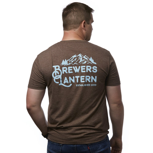 BL Mountain Short Sleeve T-Shirt - Pinecone Brown