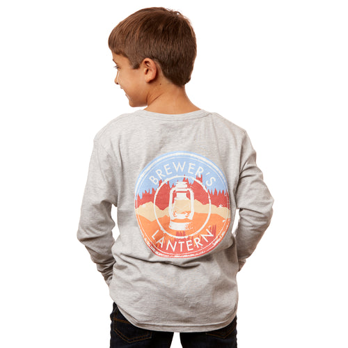 Youth Landscape Logo Long Sleeve T-Shirt