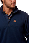 Massey Pullover - Blackberry - Front - Patch