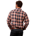 Plaid flannel shirt - Aberdeen - Back