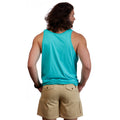 Heritage Logo Tank Top - Lost Sea Teal