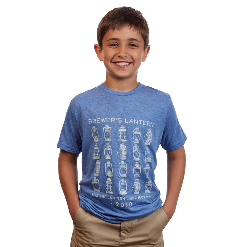 Youth Arthur's Collection Short Sleeve T-Shirt - Blue Ridge