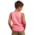 Youth Bright Mountain Tank Top - Raspberry Pink
