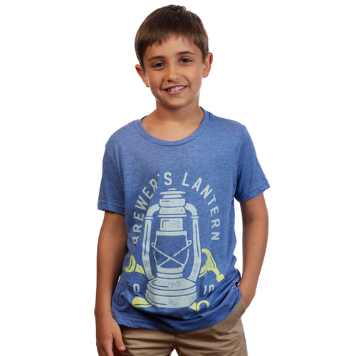Youth Craftsman Logo Short Sleeve T-Shirt - Blue Ridge