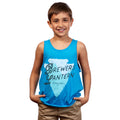Youth Travel Treasure Tank Top - Blue Raspberry