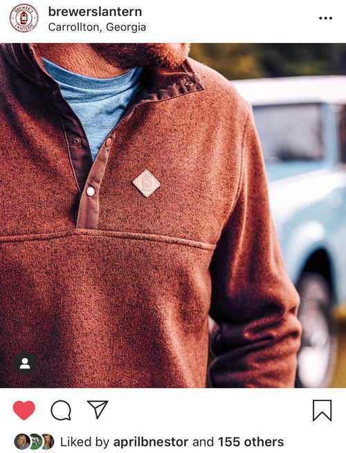 Massey Pullover - Pinecone