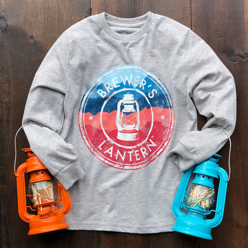 Little Lantern Autumn Logo - Youth Long Sleeve