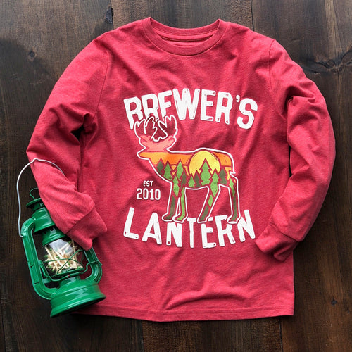 Little Lantern Staggerin' Around - Youth Long Sleeve
