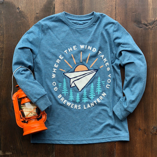 Little Lantern Go Where The Wind Takes You - Youth Long Sleeve