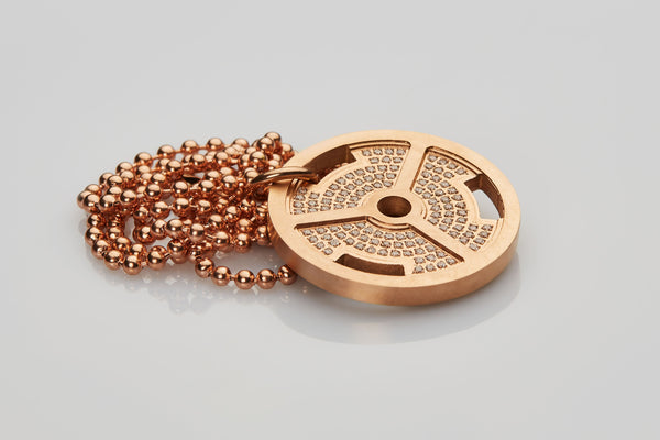 WHYRAL - Weight plate chain S - Rosegold