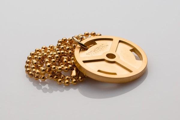 WHYRAL - Weight plate chain - Gold