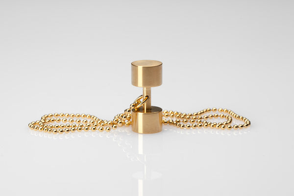 WHYRAL - Dumbbell chain III - Gold
