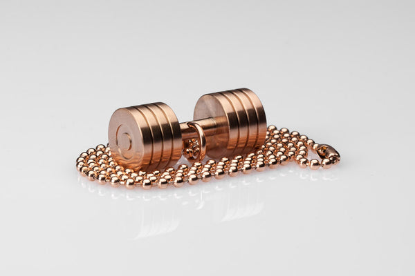 WHYRAL - Dumbbell chain II - Rosegold