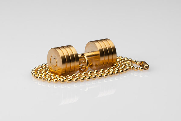 WHYRAL - Dumbbell chain II - Gold