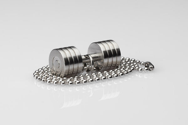 WHYRAL - Dumbbell chain II - Silver