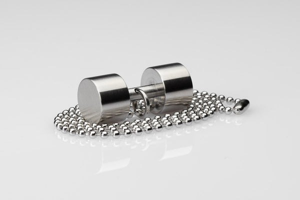 WHYRAL - Dumbbell chain III - Silver