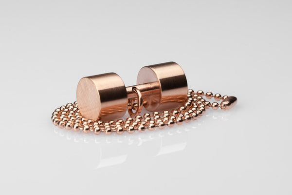 WHYRAL - Dumbbell chain III - Rosegold