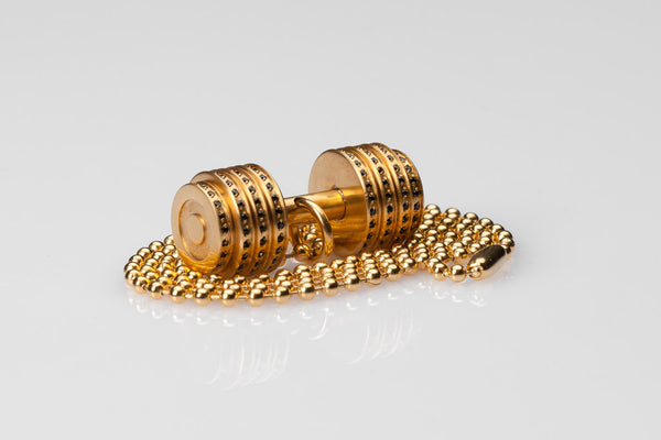 WHYRAL - Dumbbell chain S I - Gold