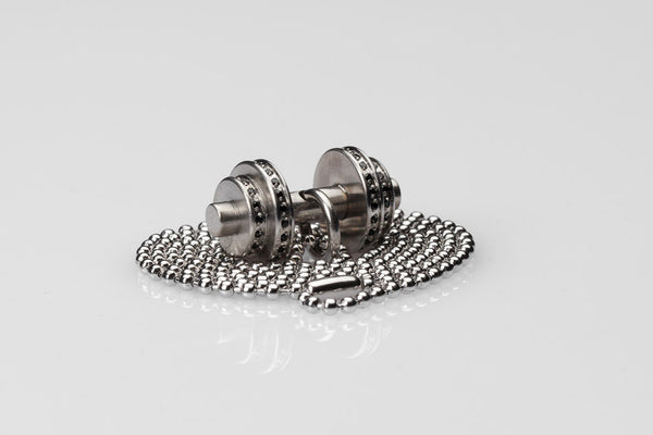 WHYRAL - Dumbbell chain S IV - Silver
