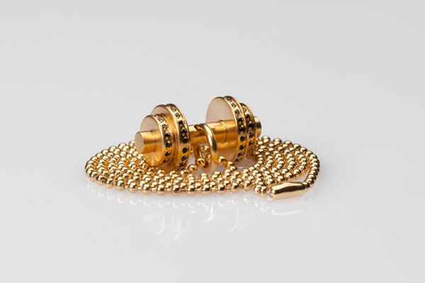 WHYRAL - Dumbbell chain S IV - Gold