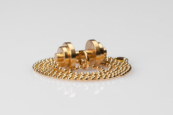 WHYRAL - Dumbbell chain IV - Gold