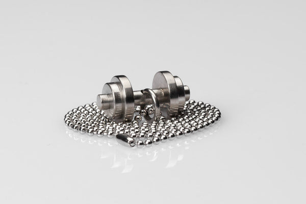 WHYRAL - Dumbbell chain IV - Silver