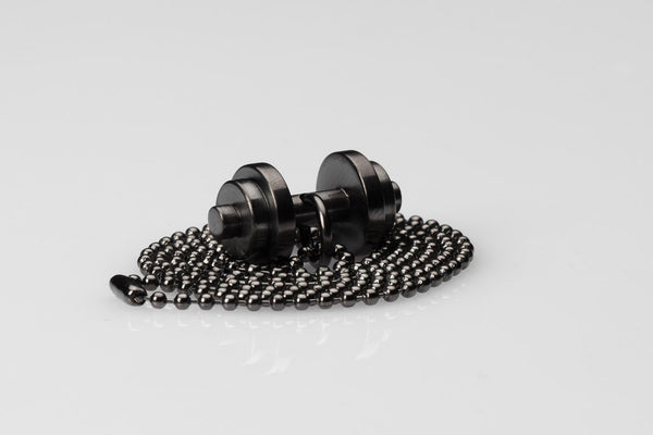 WHYRAL - Dumbbell chain IV - Black matt
