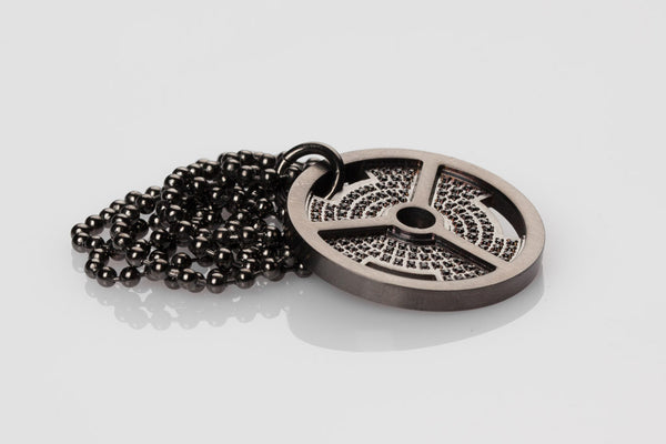 WHYRAL - Weight plate chain S - Black gun