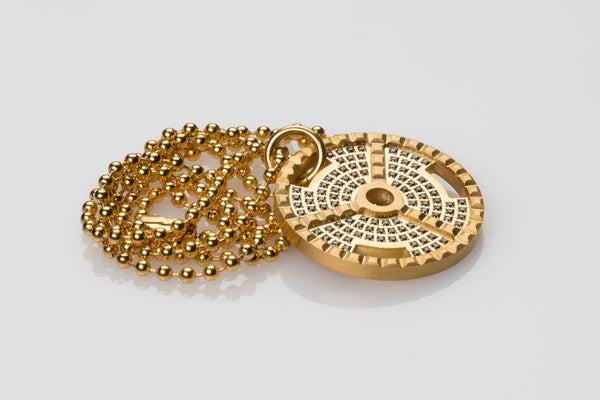 WHYRAL - Weight plate chain S*X - Gold