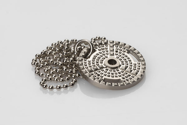 WHYRAL - Weight plate chain S*X - Silver