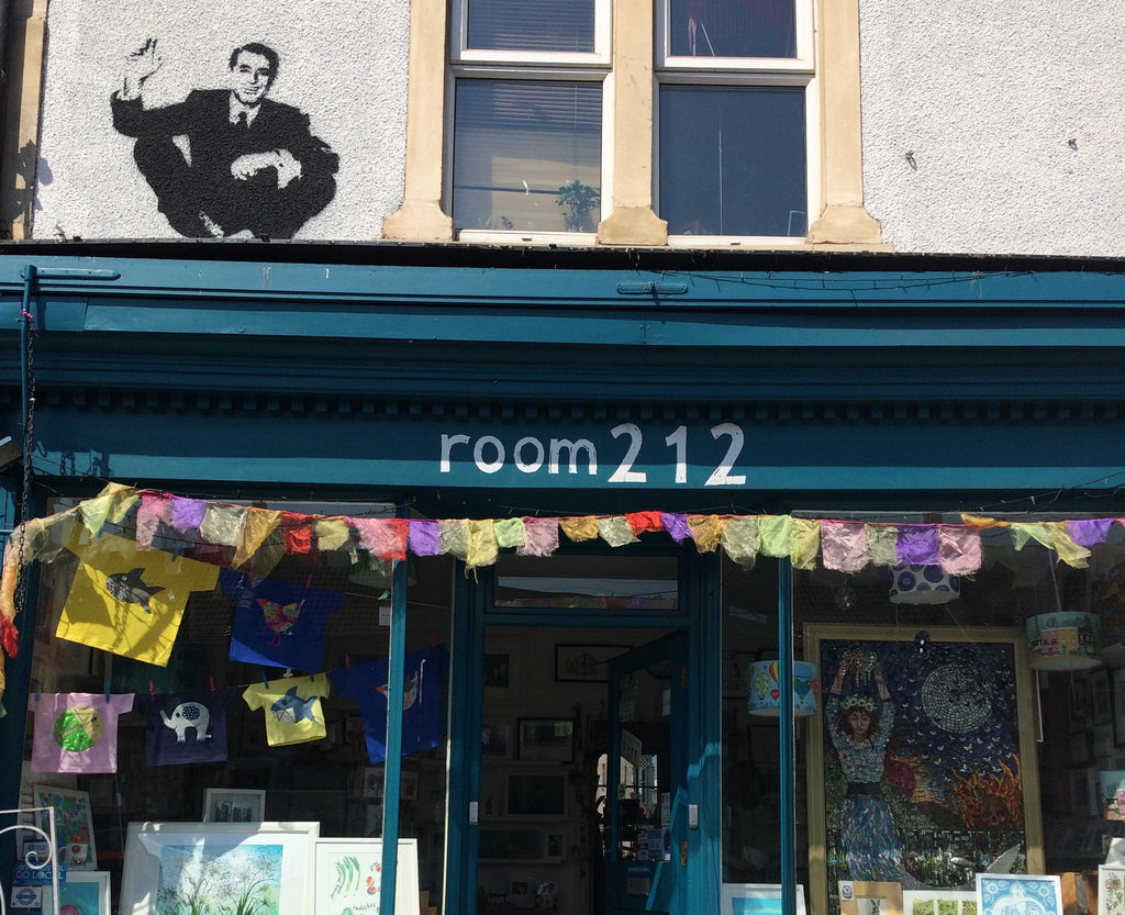 New stockist: Room 212, Gloucester Road!