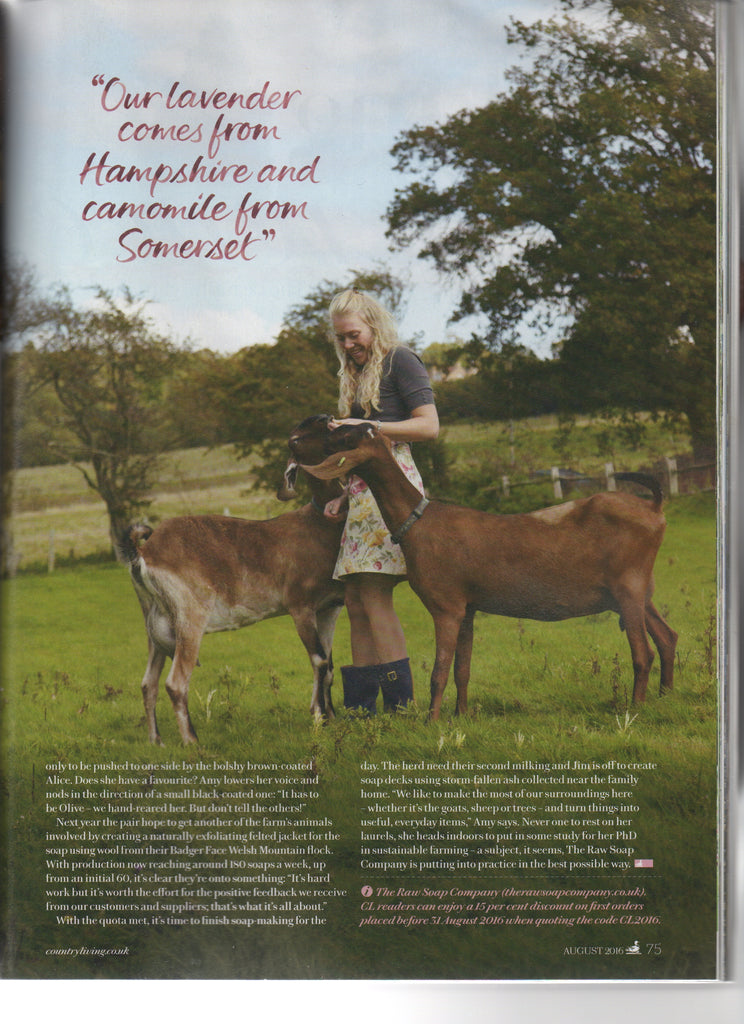 Country Living August 2016 - The Raw Soap Company (4)
