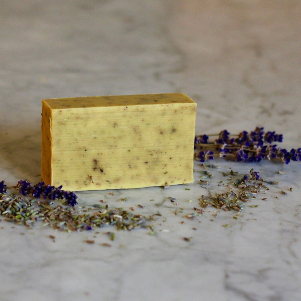 Wholemeal Lavender Goat Milk Soap