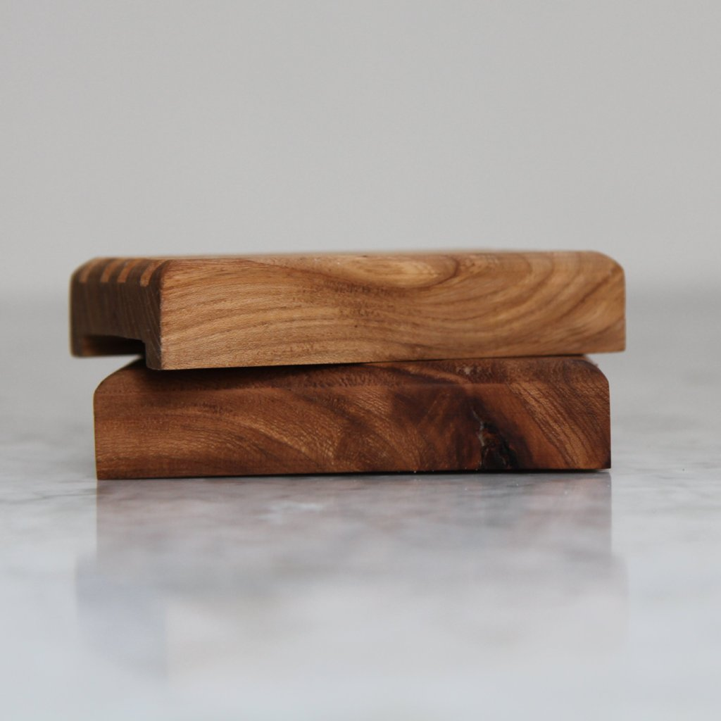 Handcrafted Storm-Felled Wooden Soap Deck