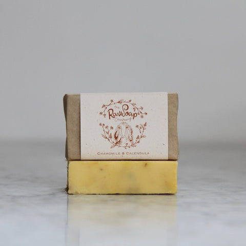 Chamomile and Calendula Goat Milk Soap