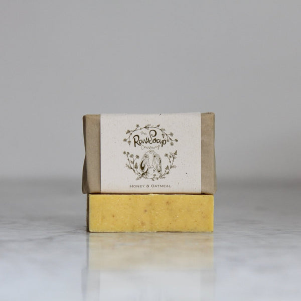 Honey and Oatmeal Goat Milk Soap