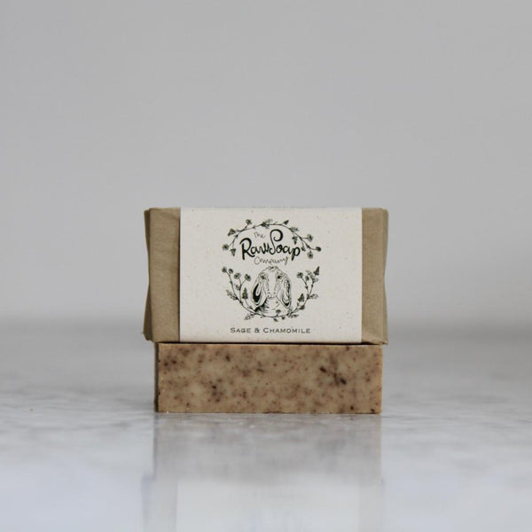 Sage and Chamomile Goat Milk Soap
