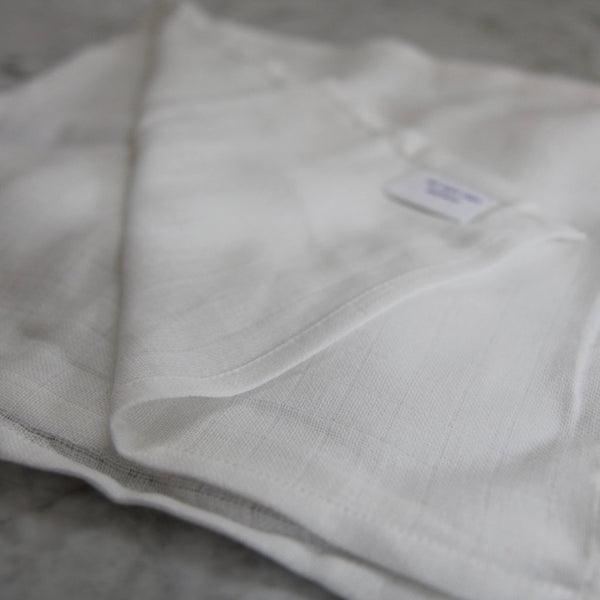 Organic Cotton Muslin Face Cloth