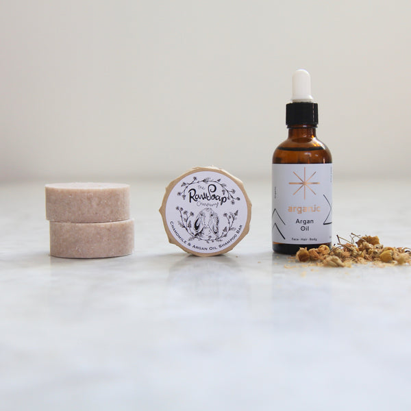 Chamomile & Argan Oil Shampoo Bar