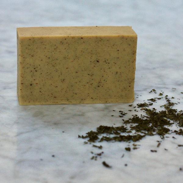 Peppermint and Honey Goat Milk Soap