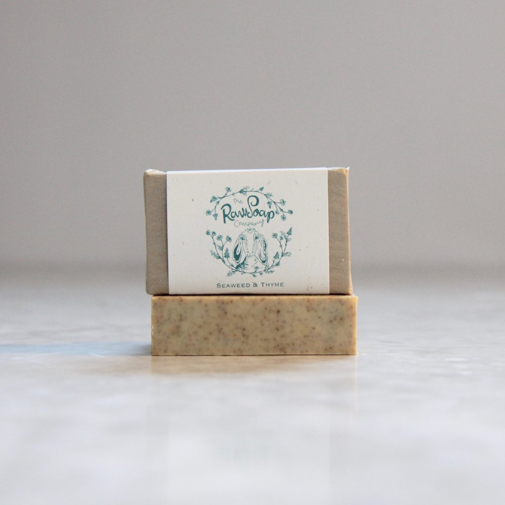 Seaweed and Thyme Goat Milk Soap
