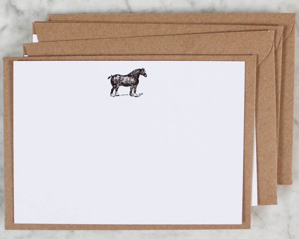 Horse Correspondence Cards