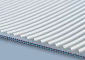2 Ply Fabsyn Corrugated White Nitrile COS