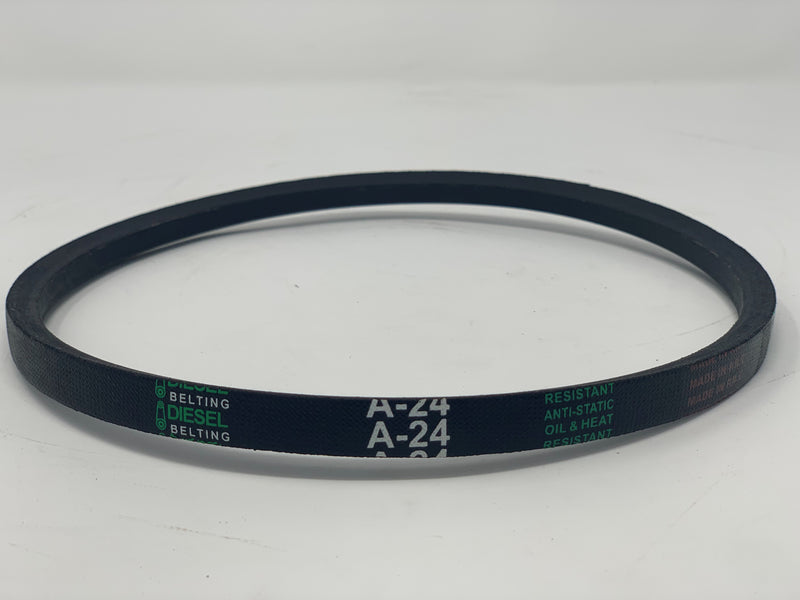 A24 Classic Wrapped V-Belt 1/2 x 26in Outside Circumference