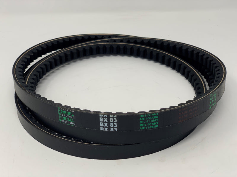 Dayton 6L289 Replacement V Belt BX83 Classic Cogged  21/32 x 86in Outside Circumference