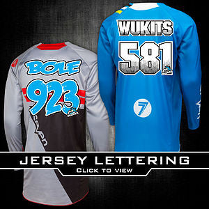 Jersey Lettering