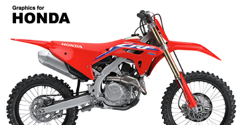 Semi-Custom Graphics for Honda's