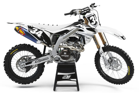 Kawasaki MX27 Graphic Kit - White
