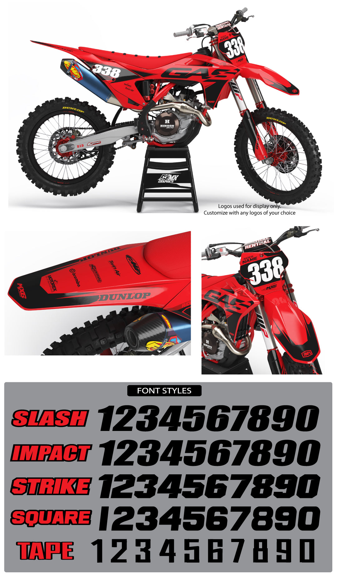 Gas Gas Pro Series Graphic Kit