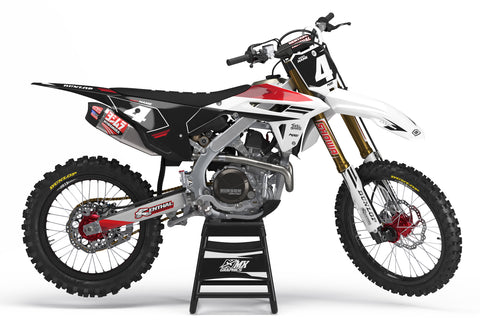 MX20 Graphic Kit for Honda's White